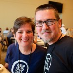 Shawn and Kay Hesketh, at WordCamp Austin