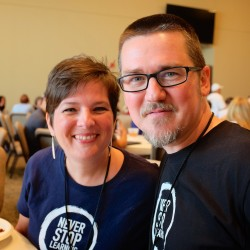Shawn and Kay Hesketh at WordCamp Austin