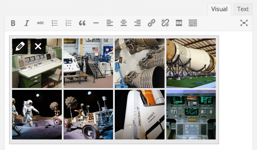 Photo Gallery Previews in WordPress 3.9
