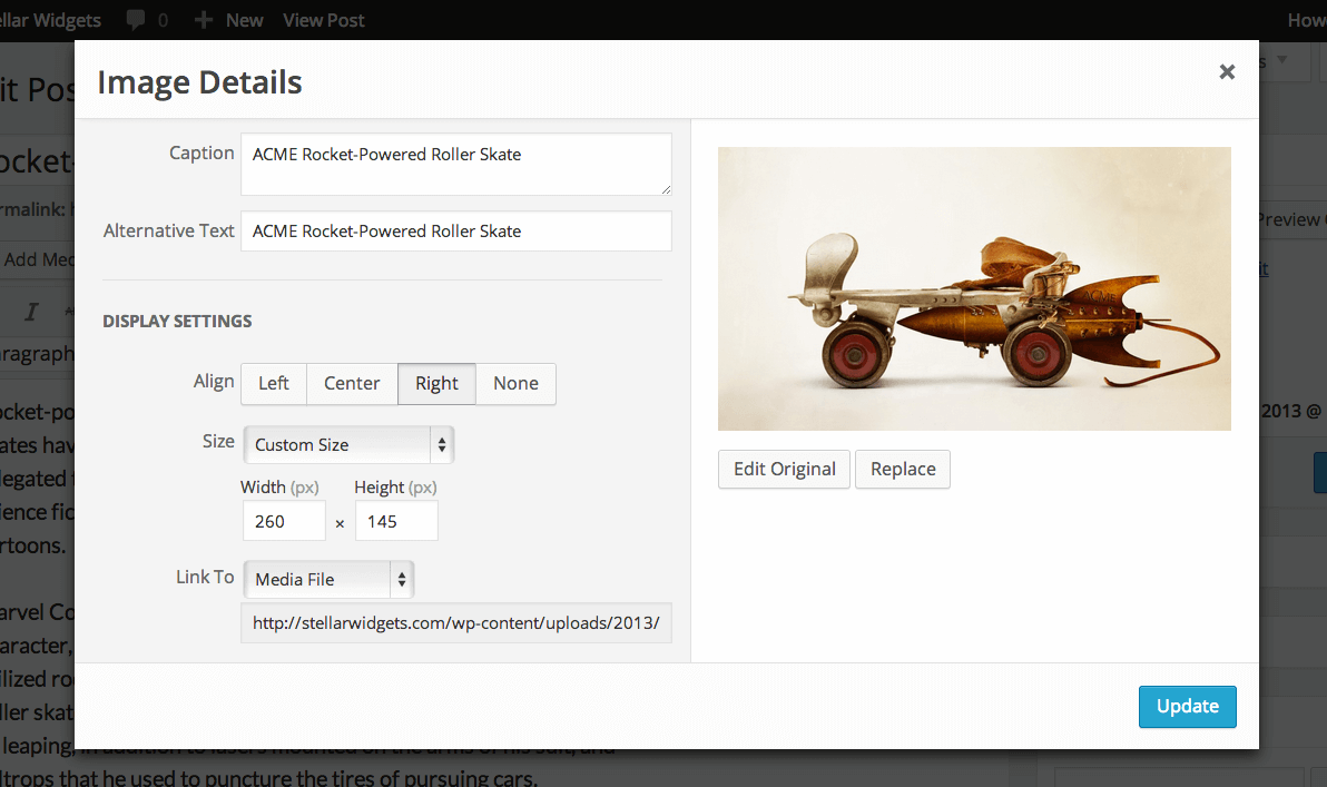 New Image Editor in WordPress 3.9
