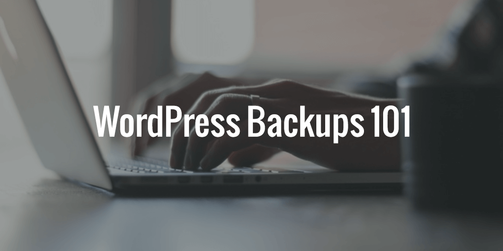 WordPress Backups 101