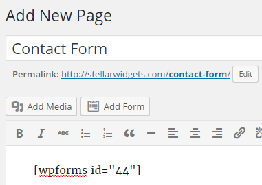 WPForms: Finally, Easy Contact Forms for WordPress
