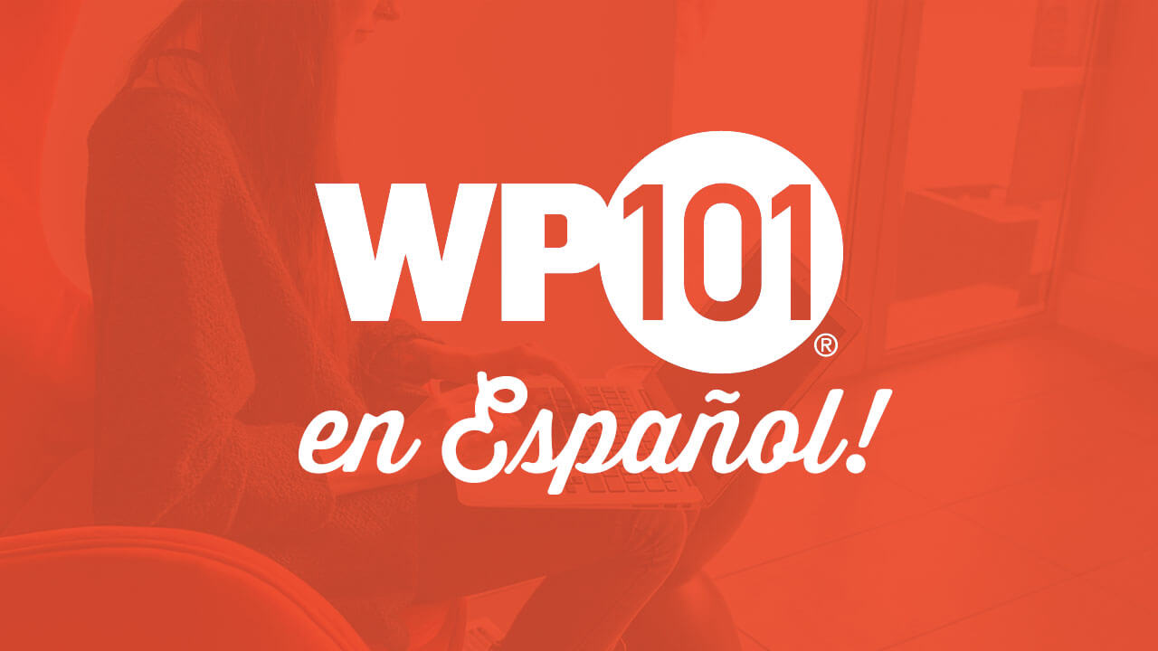 The WordPress 101 tutorial videos are now available in Spanish