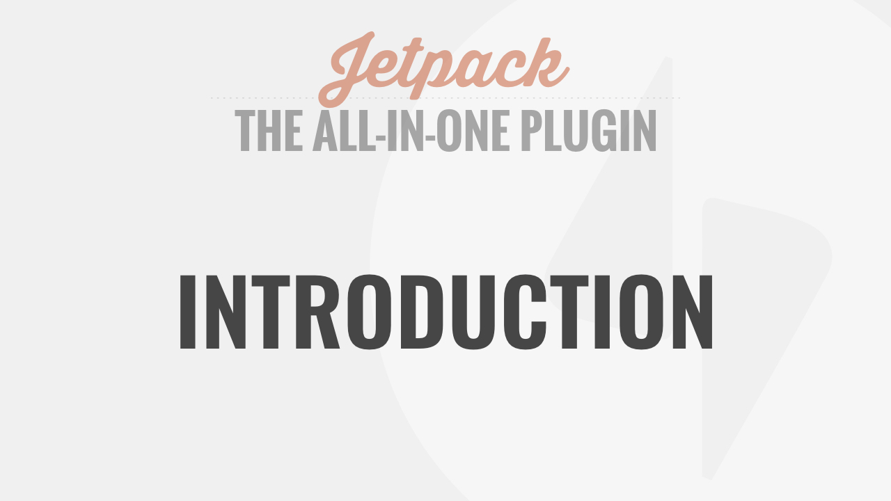 Introduction to Jetpack by WP101®