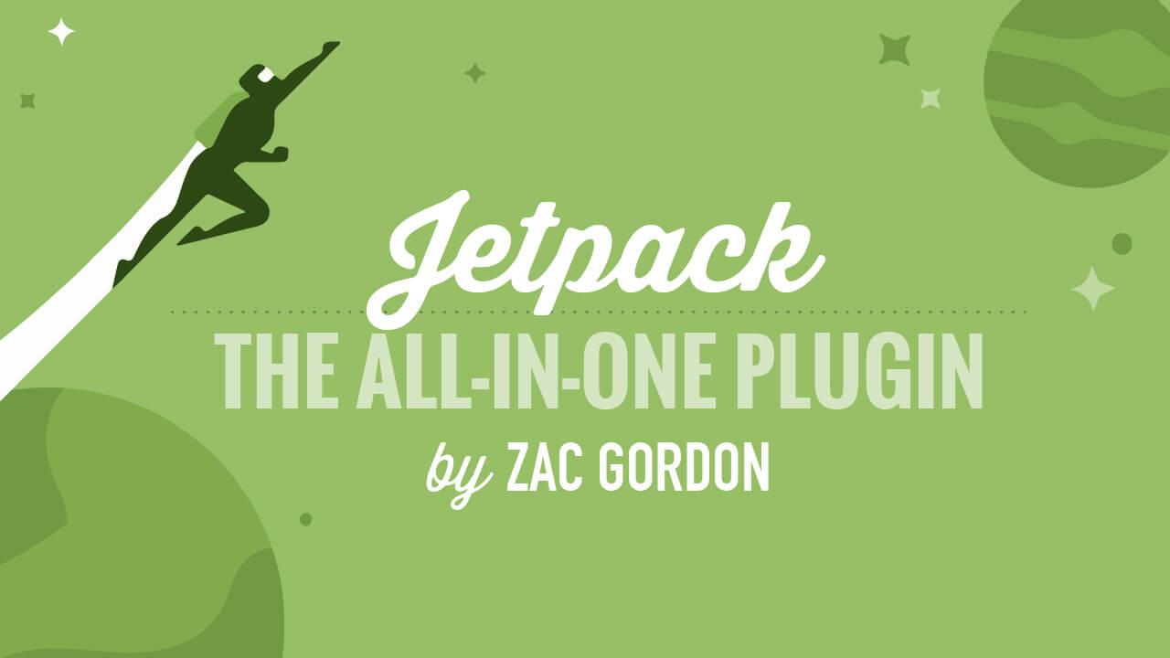 New Course: Getting Started with the Jetpack Plugin