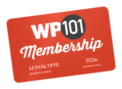 WP101 Membership Card