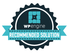WP Engine Recommended Solution Badge