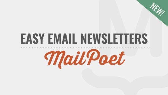 New MailPoet Course