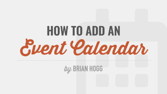 How to Add an Event Calendar to your WordPress Site Tutorial Videos