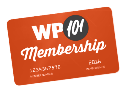 WP101 Membership Card 2018