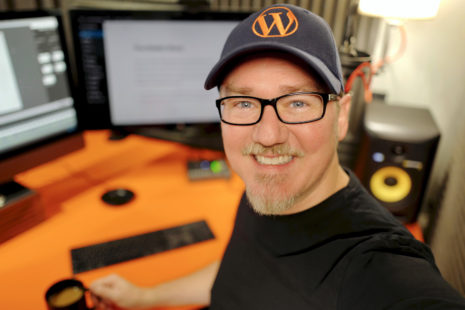Shawn Hesketh, Creator of WP101, in the recording studio