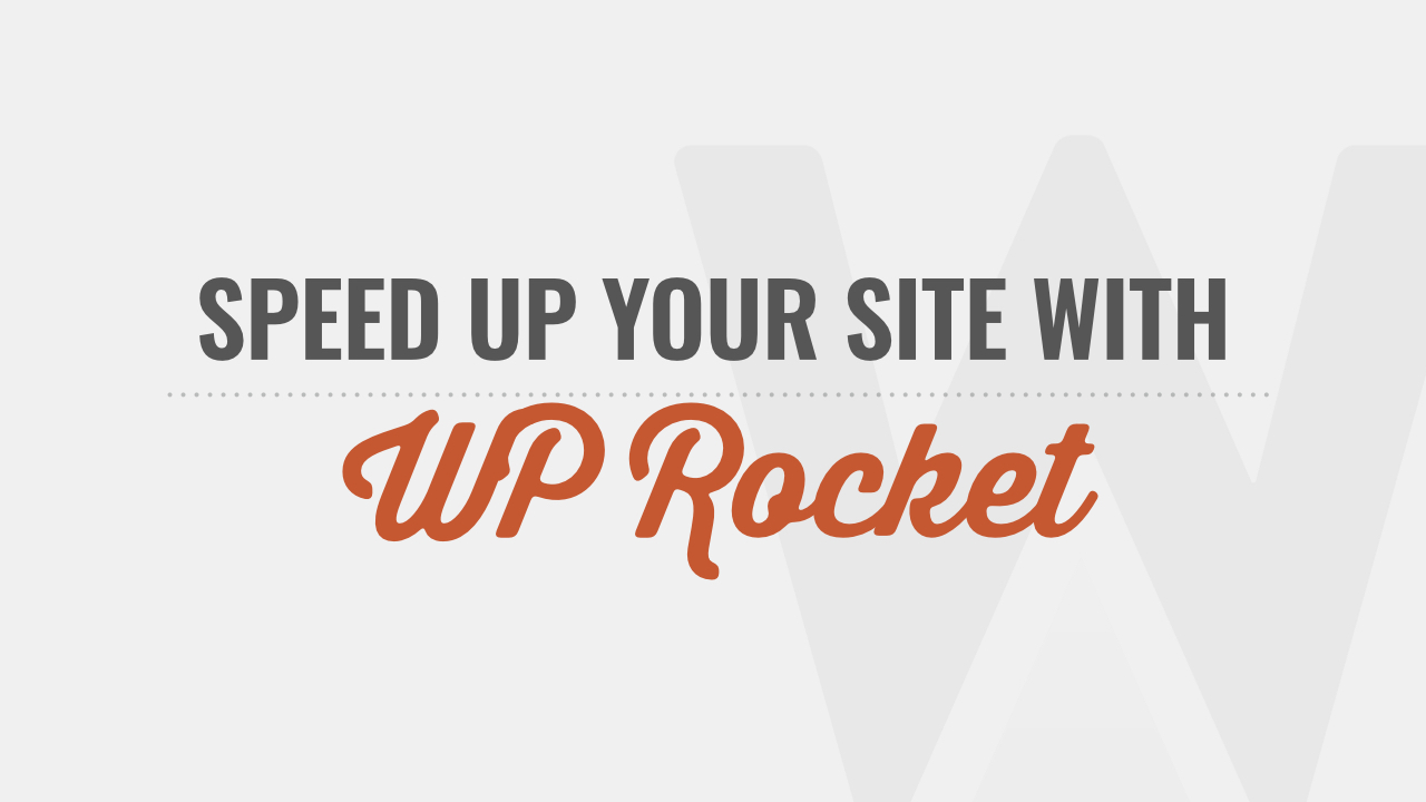 WP Rocket Course by WP101®